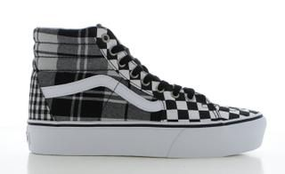 Sk8-Hi Platform 2.0 Plaid Dames | High top vans, Sneakers, Plaid