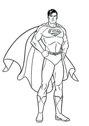 Image Result For Fashion Model Coloring Pages Superman Coloring