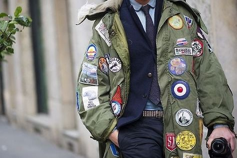 mod parka with patches - Google Search | parka power | Pinterest ...