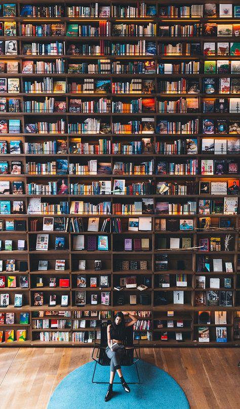 Bookshelves, Dream library, Home libraries, World of books, Home library, Library books - dailyscene   ENO official web site -  #Bookshelves