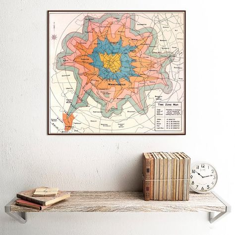 Manchester Map 1914 Isochrone Map Of Manchester Travel Times To