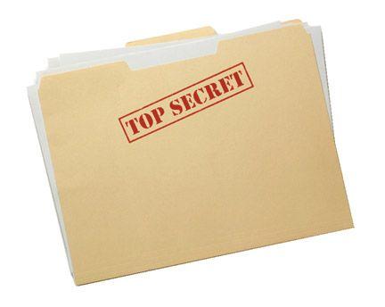 Top Secret Folder Template Free Download Geschenke