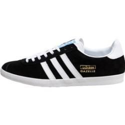 Reduzierte Herrensneaker Herrenturnschuhe Adidas Originals Herren Gazelle Og Sneakers Schwarz Weiss Gold Adidasadidas H In 2020 Adidas Sneakers Sneakers Men Adidas
