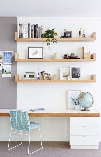 54 Best Ideas For Bedroom Desk Ideas Ikea Shelves Home Office Design Home Office Decor Home Office Space