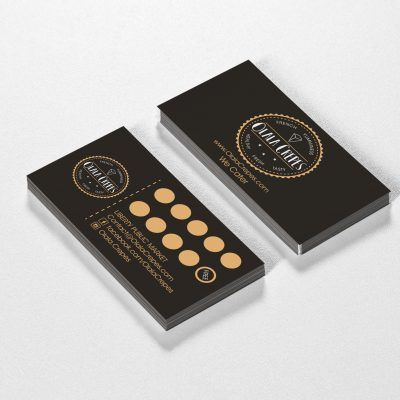 Commercial Interior Design And Branding Gallery Loyalty Card Design Coffee Shop Business Card Loyalty Card