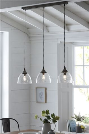 Bergen 3 Light Linear Bar With Images Pendant Lighting Dining