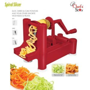 Top 10 Best Spiralizer 2020 Review Spiral Vegetable Slicer Spiralized Vegetables Noodle Maker