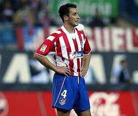 Mirsad Hibic of Atletico Madrid in 2000.   Sports jersey, Atlético madrid,  Jersey