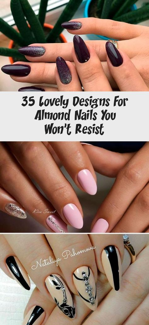 Red And Black Almond Nail Designs With Gold Glitter ❤ Lovely Designs for Almond Nails You Won't Resist ❤ See more ideas on our blog!!! #naildesignsjournal #nails #naildesigns #Flowernaildesign #naildesignPurple #naildesignPink #Toenaildesign #naildesign2018