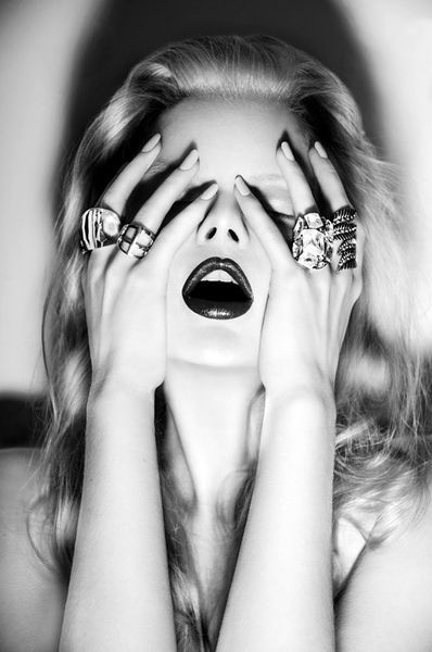 Photography jewelry black and white fashion editorial jewels lulu frost onward lulu unusual and or unique pinterest