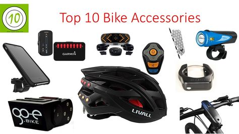 Top 10 Bicycle Accessories 2017 I Best Urban Cycling Gadgets I