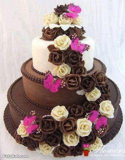 اجمل مجموعة تورتات 2020 تحميل تورتة عيد ميلاد Chocolate Wedding Cake Tiered Cakes Pink Wedding Cake
