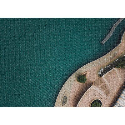 East Urban Home Aerial Shots From An Airplane 11 Green Area Rug Rug Size Rectangle 2 X 4