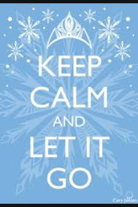 Let it go!