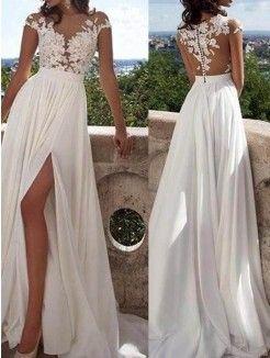 långa klänningar billigt