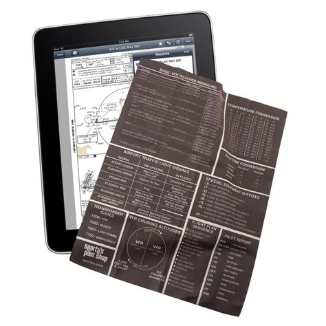Pilot S Ipad Cleaning Cloth Cleaning Pilot Ipad