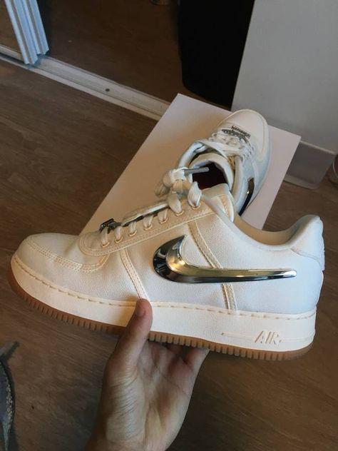 Nike Air Force 1 Low Travis Scott Sail Size 10 Size US 10