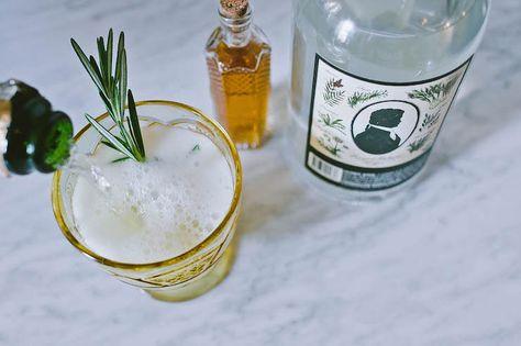 SAGE Pear Collins cocktail