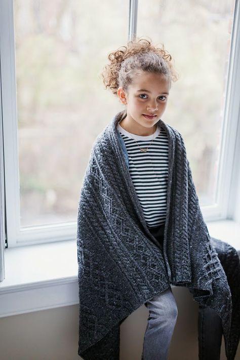 'Bairn' blanket pattern (chart only) in 2 sizes - $7