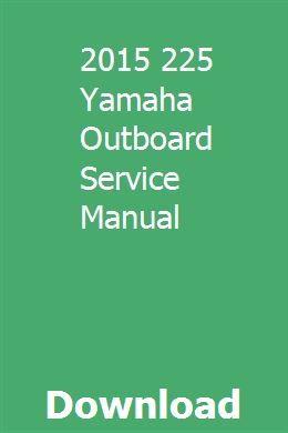 2015 225 Yamaha Outboard Service Manual Certified Used Cars Subaru Impreza Impreza