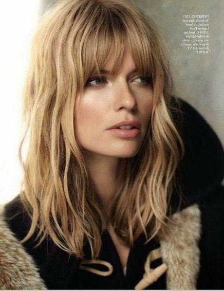 Coiffures Cheveux Mi Longs Frange Coiffure Cheveux Mi Long Coiffure Frange Cheveux