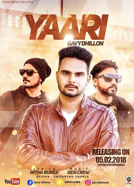 Description:- Yaari Punjabi Song Lyrics are provided in this