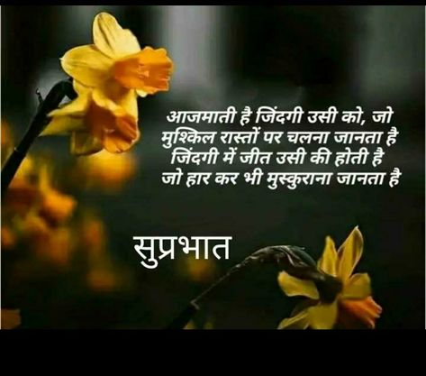 Pin By Sahadev Salian On Su Prabhat In 2020 Army Quotes Good Morning Quotes Positive Inspiration