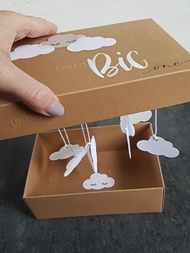Diy Geschenk Box Zur Geburt Oder Taufe Lisa Kreativ