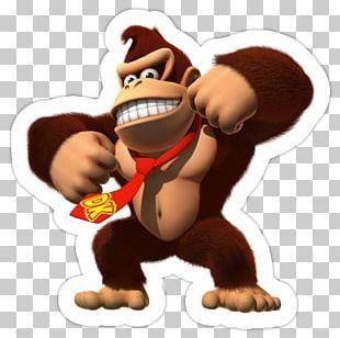 Donkey Kong Country Returns Donkey Kong Jr Donkey Kong 64 Png Clipart Animals Diddy Kong Donke Donkey Kong Country Donkey Kong Country Returns Donkey Kong