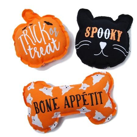 Cotton Halloween Dog Toy Dog Halloween Interactive Dog Toys