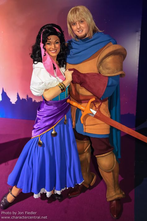 Information about Phoebus (Captain Phoebus de Chateaupers) and pictures of Phoebus including where to meet them and where to see them in parades and shows at the Disney Parks (Walt Disney World, Disneyland, Disneyland Paris, Tokyo Disneyland)