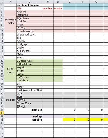Easy To Use Spreadsheets Templates Business Templates Pinterest - budget spreadsheet template mac