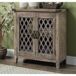 Morford 1 Drawer 2 Door Cabinet Joss Main Accent Doors Accent Cabinet Glass Front Cabinets