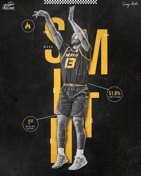 Mizzou Basketball Stat Graphics on Behance