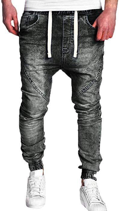 Geili Herrenmode Jeanshose Jungen Elastischer Bund Skinny