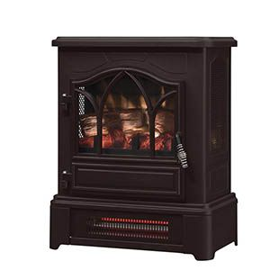 Duraflame Bronze 3d Infrared Electric Fireplace Stove Dfi 470 07