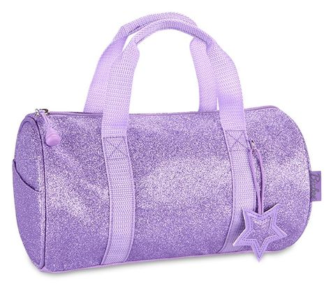 Sparkalicious Small Purple Duffle