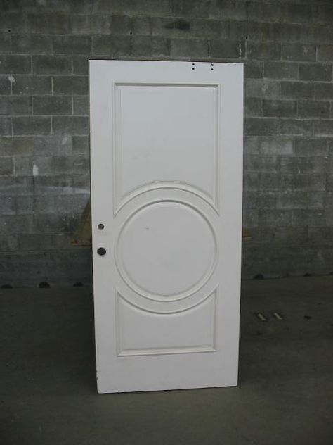 Wood Panel Exterior Door | Second Use, Seattle: Building Materials, Salvage, & Deconstruction