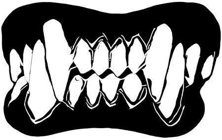 Vampire Fangs Clipart Jpg Png Svg Vector Printable Art Digital Etsy Printable Art Art Vampire Fangs