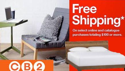 Cb2 Free Shipping >> Cb2 Free Shipping Cb2 Promo Code Free Furniture Free Shipping