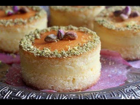 recette basboussa à la semoule et crème de citron, Ramadan 2018 -