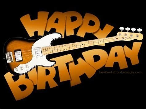 Happy Birthday Guitar Player With Images Happy Birthday Guitar