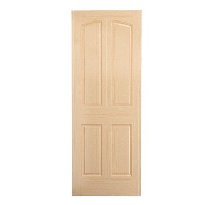 Karona Door Paneled Manufactured Wood Primed Standard Door Discount Interior Doors Best Interior Design Contemporary Interior Design