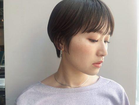 束感マッシュショート 2020 短い髪のためのヘアスタイル マッシュショート ハンサムショート