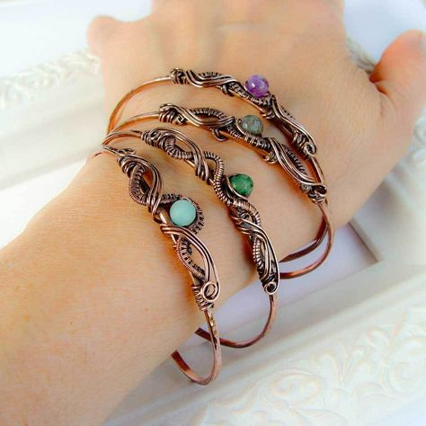CORAL BRACELET: boho jewelry leather bracelet pearls bridesmaid gift bohemian gift for her gift for him wedding gift handmade jewelry - Custom Jewelry Ideas Copper Wire Jewelry, Copper Cuff, Copper Bracelet, Crystal Jewelry, Boho Jewelry, Amethyst Bracelet, Wire Jewellery, Hammered Copper, Silver Jewelry