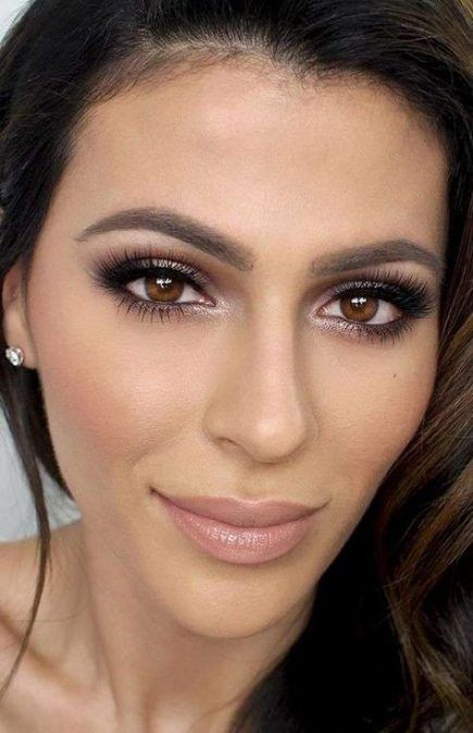 New Wedding Makeup For Brown Eyes Olive Skin Eyeshadows 16 Ideas