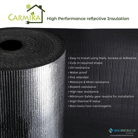 Carmika Reflective Insulation Reflective Insulation Insulation Insulation Materials