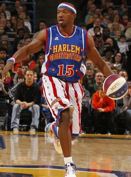 #15 Buckets Blakes has GOT GAME! Get his Globetrotters jersey here.