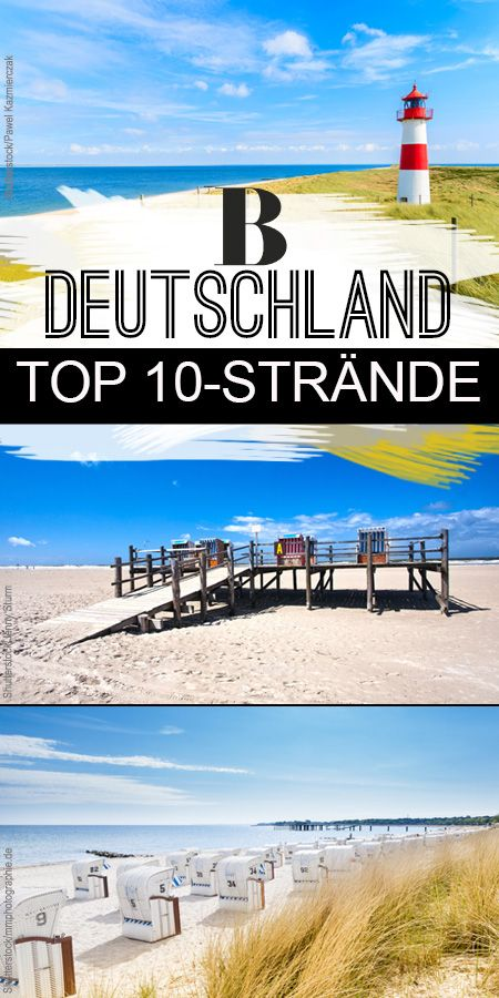 Auf Ans Meer Die 10 Schonsten Strande In Deutschland Man Muss Nicht Ins Flugzeug Steigen Um Sich An Strand Deutschland Urlaub Am Meer Die Schonsten Strande