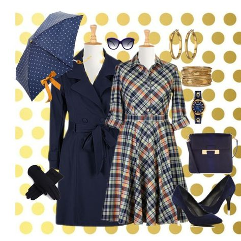 """""""plus size casual"""" by saritanwa on Polyvore- I love plaid"""